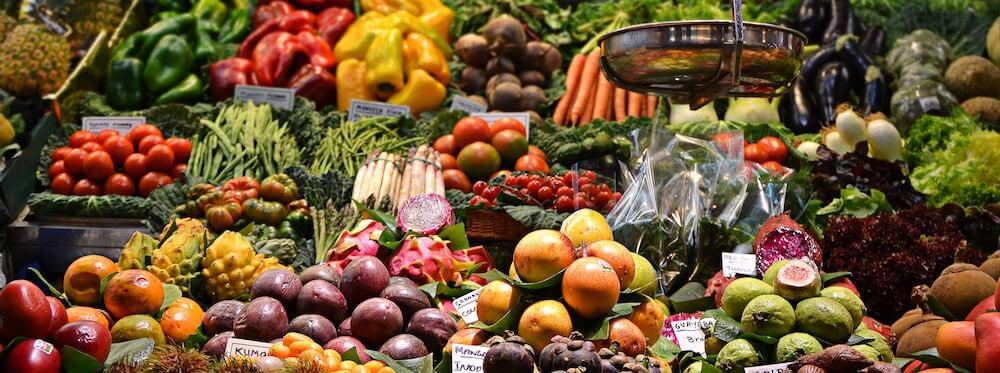 Obst und Gemuese enthalten Polyphenole