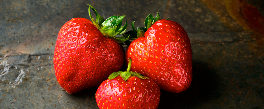 Erdbeeren enthalten Lycopin