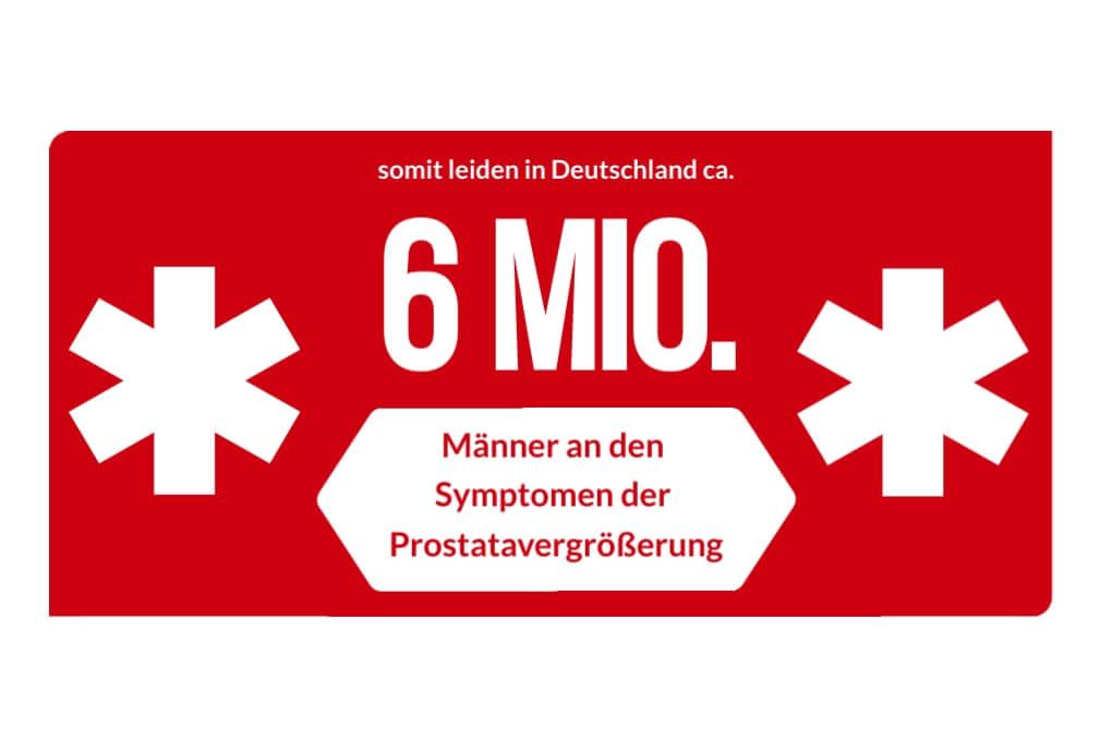 Prostatavergrößerung - Männer mit beignem Prostata Syndrom BPS