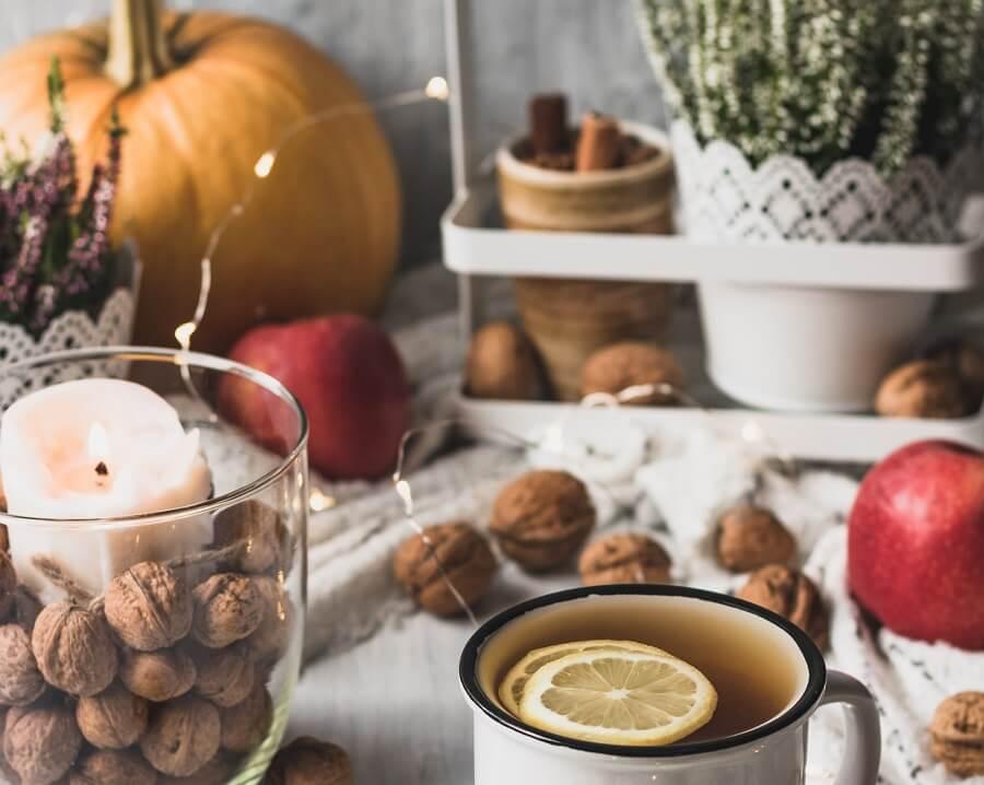 Tee für die Prostata im Herbst